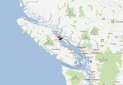 Travelling To Comox Valley Airport Location And Directions Map