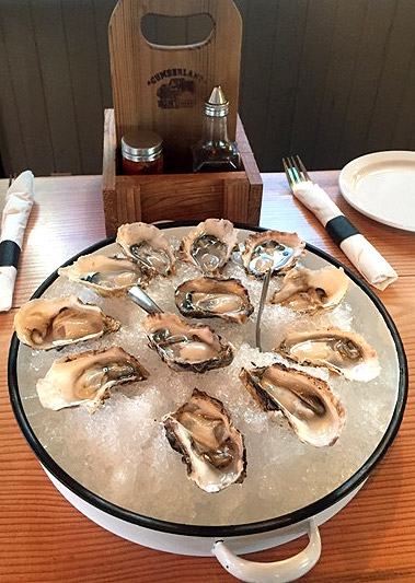 Delicious Vancouver Island oysters - Eugene Chung